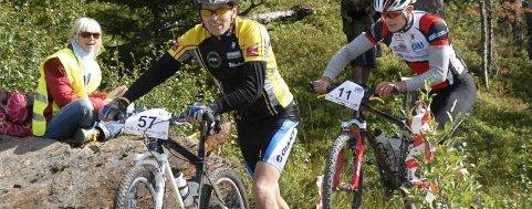 NIENDE: Det er niende gang Trond Nyland (foran) deltar i Birkebeinerrittet. Han er veteranen fra Helgeland, og i år er det flere lokale ryttere enn noengang. (Foto: Trond Kenneth Larsen)
