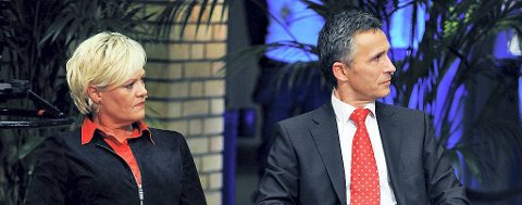 SV-leder Kristin Halvorsen og Ap-statsminister Jens Stoltenberg virker til å være samkjørte nok til fire nye år i en samarbeidsregjering.