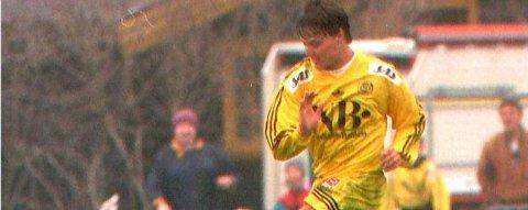 TILBAKE: Bent Inge Johnsen i Glimt-trøya på 90-tallet.