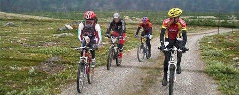 4summit Race, 2007. F.v. Bersvenn Støen, Rune Müller, Jon Per Nygård, Knut Erik Nesteby.