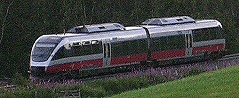 Fra høsten får de nye togsettene på Rørosbanen hjelp av Solan og Ludvig-togene til å takle rushtrafikken. Arkivfoto.