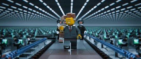 BAs anmelder mener Lego-filmen har mye bra humor.