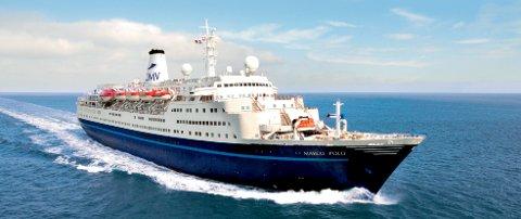 Marco Polo er det største cruis-skipet som har anløpt Narvik i 2010. Nå er skipet meldt inn tre ganger neste år.