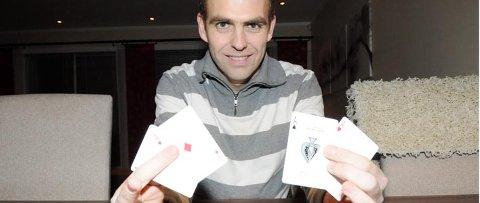 Ingen slår Fet-karen Rune Carlsen hva gjelder nærmagi.