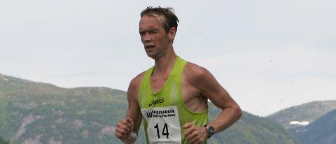 VANN NM: Helge Hafsås la bak seg over 8,4 mil på seks timars innsats.
