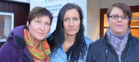 RESIGNERTE: Tillitsvalgte i Haltdalen  f.v: Ingvild Ranøien Engen,May Karin Engesvoll og Lusie Hilmo. Arkivbilde