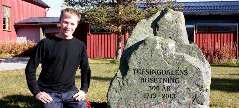 Nytt liv: I den nedlagte skolen i Tufsingdalen skal vi skape nytt liv, sier leder i Tufsingdal og Narbuvoll Utvikling, Ivar Midtdal. Begge foto: Ole Annar Krogh