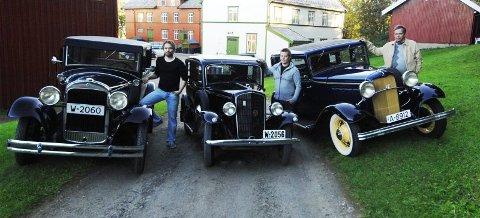 Nesten 200 år. Alt er større i USA. Opelen til Sigve Langvand blir liten i forhold til amerikanske Essex til Ole-Johnny Rengård og Forden til Stein Rugsveen. Dette er ekte førkrigsveteraner.