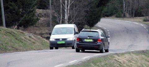 Trafikk:  Statistikken viser at menn får større skader ved trafikkulykker enn kvinner. Illustrasjonsfoto