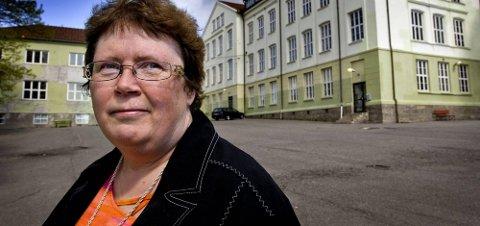 INVITERER SARPSBORG: Styreleder Inger-Christin Torp i Folkehelsa vil gjerne ha med Sarpsborg på et nytt forebyggende helseprosjekt for ungdom. (Foto: Johnny Helgesen)