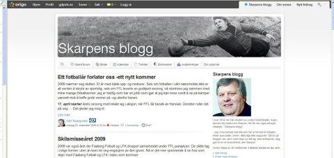 GDs sportsjournalist opprettet i vår en blogg på gdpuls.no hvor han skriver om lokalfotballen. Den har hatt stor suksess med og mange følger og kommenterer det han skriver. Dette kan du også gjøre.
