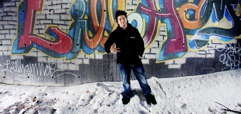 David Tengs skal sammen med andre grafittikunstnere sette farge på Lillehammers underganger.