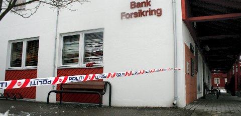 Sparebank 1 Skotterud ble også utsatt for innbrudd i løpet av natt til onsdag.