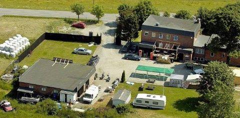 BOLIGER: Det tidligere Hells Angels-lokalet på Findal kan bli boliger.
