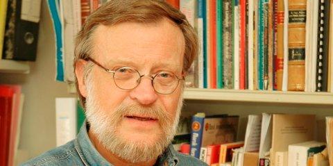 Professor Tore Pryser ved Høgskolen i Lillehammer ble tildelt FoU-pris fredag. (Arkivfoto)