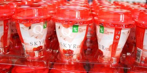Q-meieriene har fått enerett på produksjon og salg av skyr i Norge.