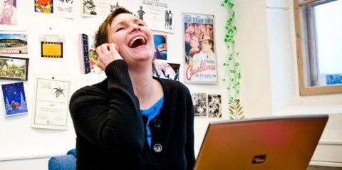 """Produsent Trine Aadalen Lo er ikke rent lite fornøyd med at """"Bestevenner"""" har vunnet to filmpriser i Canada."""
