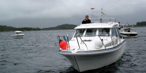 Småbåtar blir oppmode om å  møte Fjordsteam i dag.