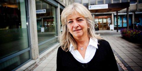 IKKE MOTLØS: Lillehammer-ordfører Synnøve Brenden mener GD-målingen bør være en motivasjon for Ap. Foto: Silje Rindal