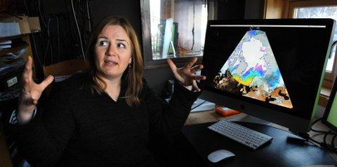 utvikler: Inger Christine Årstad fra Eina har utviklet utstillingskonseptet og laget filmene til utstillingen, som skal ut på verdensturné. ARKIVBILDE