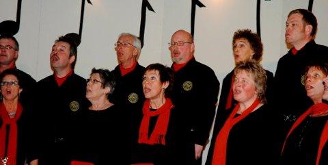 Sør-Fron sangkor fikk ros for en framføring med stor sangglede.