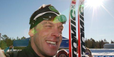 Anders Aukland gikk inn som nummer to i Birkebeinerrennet.