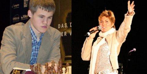 Magnus Carlsen og Sissel Kyrkjebø er to av navnene på lista over de som kan ende opp som årets Peer.