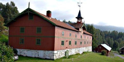 Maihaugen har planer om at denne bygningen skal bli Norges første nasjonale litteraturmuseum.