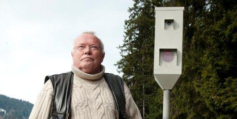 Ole K. Myrold har bygget opp en database over plasseringen av 9.000 fartsbokser over hele Europa.