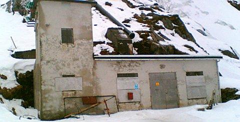 Heimerdalen kraftstasjon ved Eggum.