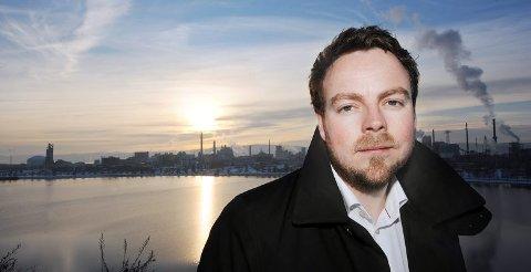 OPPGJEVEN: Tobjørn Røe Isaksen (H) likar ikkje reglane som gjer kvardagen vanskeleg for småprodusentar av alkohol. - Dette handlar om arbeidsplassar og gründerskap i distrikts-Telemark, seier han.
