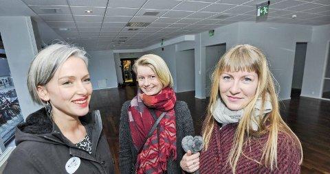 Sigrid Bjørbæk, Elisabeth Benonisen og Linn Rebekka Aamo