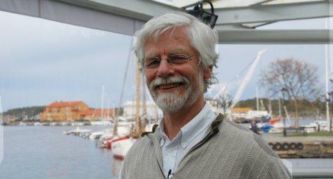 Peter Butenschöns foredrag  vakte stor begeistring på Brygga.