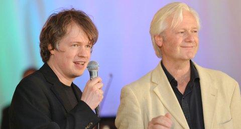 Henning Kraggerud (venstre) og Lars Anders Tomter er Kammermusikkfestens kunstneriske ledere. Strategien med å gjøre festivalen mer synlig, viste seg å bli en stor suksess.