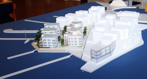 Hotelldelen av prosjektet er lagt til den sydlige enden.