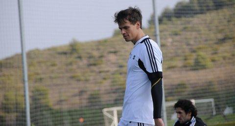 DEBUTANT: Lars-Kristian Eriksen starter mot Kuban Krasnodar.