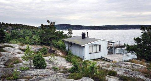 VED ROGNSFJORDEN: I dette området, ved Rognsfjorden, vil Stiftelsen Norsk Hydro feriesenter selge hytter og tomter.