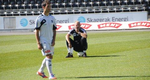 Dag Aleksander Olsen har imponert Odd-trener Dag-Eilev Fagermo.