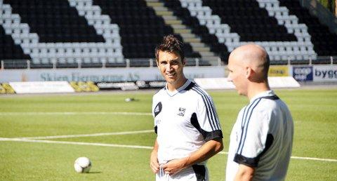 MARKERTE SEG: Odds nye angrepsspiller Dag Alexander Olsen sørget for reduseringen i kveldens kamp mot Vard Haugesund.