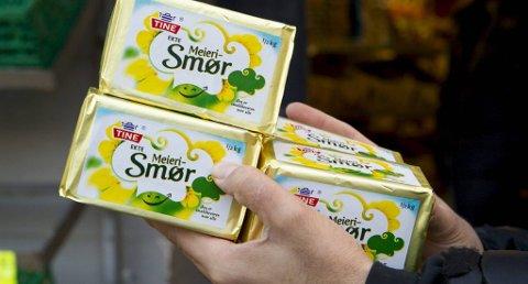 For å lage smør trengs det melkefett. Det inneholder melken nå mindre av.