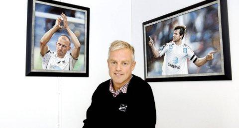 GIR OPP: Odd Grenland og markedsdirektør Bjørn Erik Hansen (bildet) gir opp Munch-prosjektet.