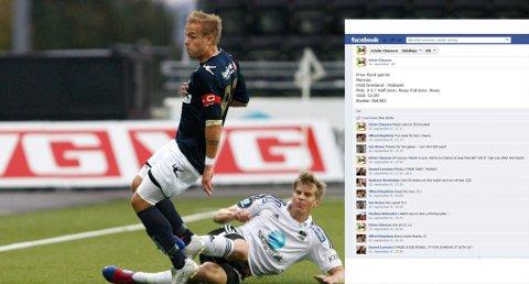 OVERRASKENDE TAP: Niklas Gunnarsson og Odd tapte overraskende 1-2 mot Christer Kleiven og Stabæk 16. september. En person som kaller seg Edvin Clausen hevder på Facebook (innfelt) at kampen var arrangert.