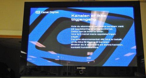 Canal digital kabel tv kundeservice