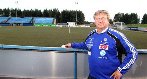 Pors-leder Kjell Inge Davik er ikke bekymret for situasjonen Pors er i.
