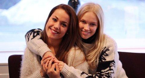 """FORHÅNDSFAVORITT: Julie Bergan og Sara Skjoldnes har kjent hverandre i en årrekke. Sammen med Ben Adams har de skrevet MGP-låten """"Give a little something back"""". Låten seiler opp som MGP- forhåndsfavoritt."""