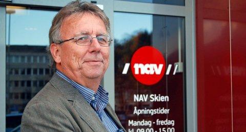 BEKYMRET: Nav-sjef Per Stokstad mener Skien har kommet for kort i integreringsarbeidet, og forteller at mange unge og innvandrere ikke makter å komme seg ut i jobb. ARKIVFOTO