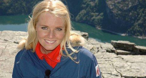 Henriette Bruusgaard er programleder for Alt for Norge. Foto: TVNorge/ANB