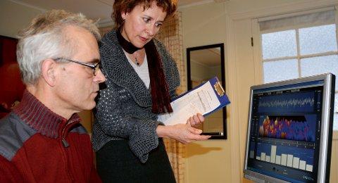 Fysioterapi for hjernen: - Hvis du vet hvor det er, kan det trenes, sier doktor Bodil Solberg. Erlend Solberg er neurofeedback-terapeut.
