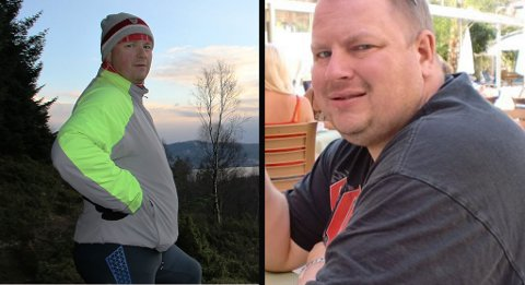 I ENDRING: Tor Egil har kvitta seg med 40 kilo. Framleis vil ha kvitta seg med meir.