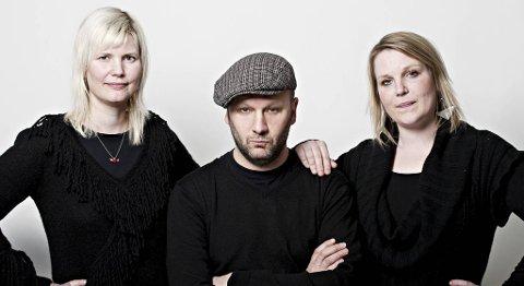 NY «OPPDRAG DEMO»-DYST: Den nye «Oppdrag Demo» juryen er i år Ann Kristin Ødegård, Geir Luedy og Frøydis Moberg.